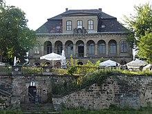 Schloss Übigau, Ansicht der Gartenfassade (Quelle: Wikimedia)