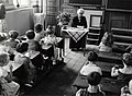 Schoolklas begin jaren '50 - Dutch classroom around 1950 (3916313892).jpg