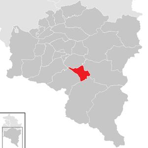 Schruns - Image: Schruns im Bezirk BZ