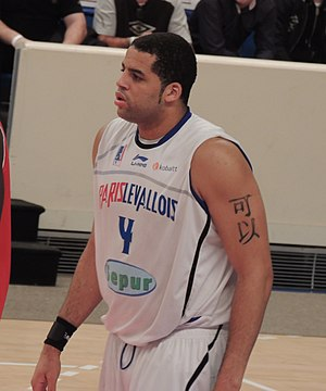 Sean May - May in action for Paris-Levallois in 2012