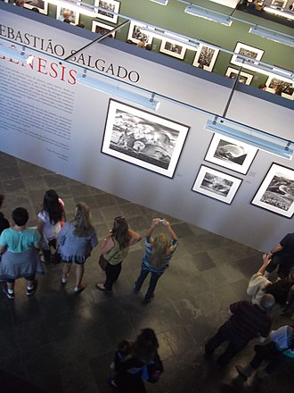 Sebastião Salgado - Salgado's Genesis exhibition in 2014