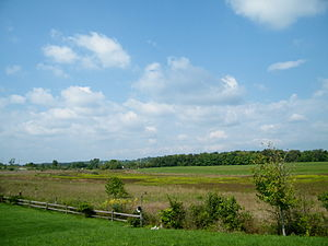 Second Battle of Kernstown - Battlefield where the Second Battle of Kernstown took place