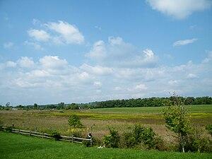 Second Battle of Kernstown - Battlefield where the Second Battle of Kernstown took place