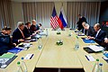 Secretary Kerry, Russian Foreign Minister Lavrov Sit With Respective Advisers Before Bilateral Meeting in Switzerland (23872463753).jpg
