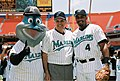 Secretary Mel Martinez in Miami Florida with Billy the Marlin and Lyle Mouton.jpg