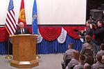 Secretary of Defense Robert Gates Visits Manas Air Base, Kyrgyzstan DVIDS135932.jpg