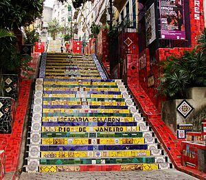 Escadaria Selarón - Selaron Steps, Rio de Janeiro