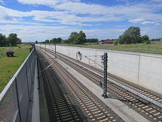 German railway line