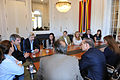 Senadores con Michetti y Peña 02.jpg