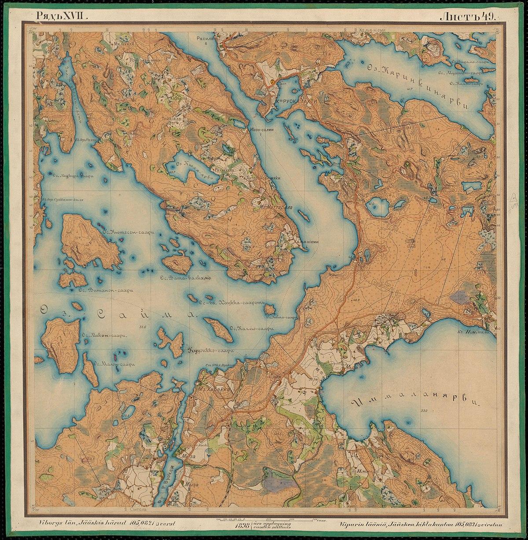 File Senate Atlas 1870 1907 Sheet Xvii 49 Ruokolahti Jpg