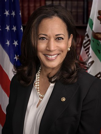 2016 United States Senate election in California - Image: Senator Harris official senate portrait