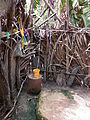 Senegalese bush bathroom shower.JPG