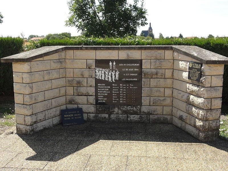 Senon (Meuse) stèle des fusillés