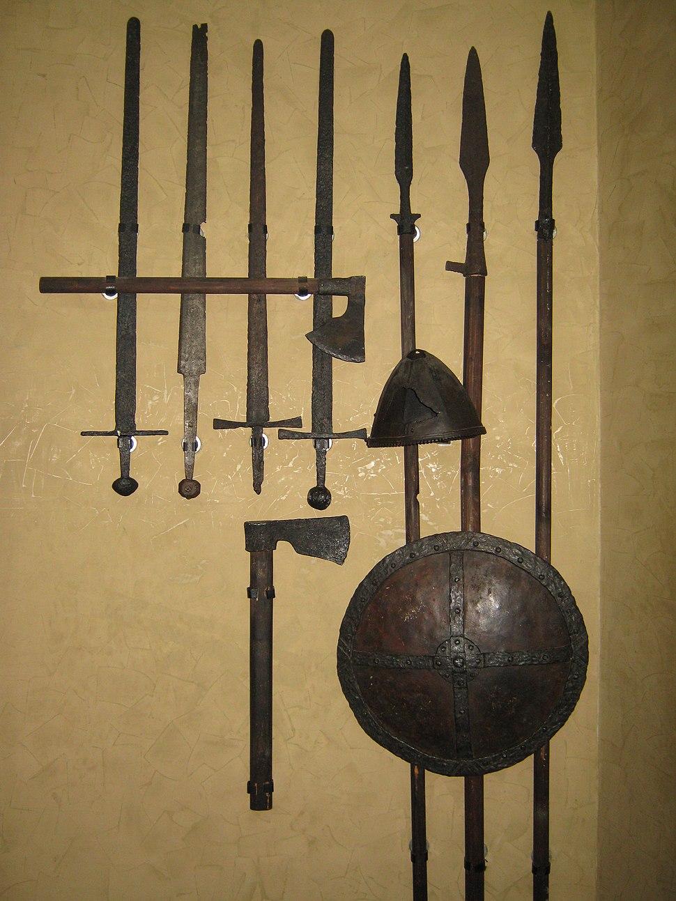 Serbian medieval army equipment