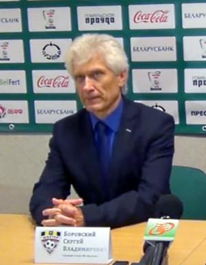 Sergei Borovsky - Sergei Borovsky in 2015