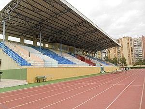 Serinevler Athletics Stadium - Image: Serinevler Athletics Stadium 1