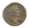 Sestertius van Antoninus Pius in messing, 140 tot 143 NC, vindplaats- Onbekend, collectie Gallo-Romeins Museum Tongeren, S-180, 006.jpg