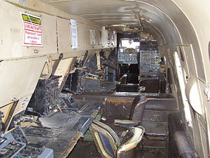 Avro Shackleton - Interior of a Shackleton MR.3