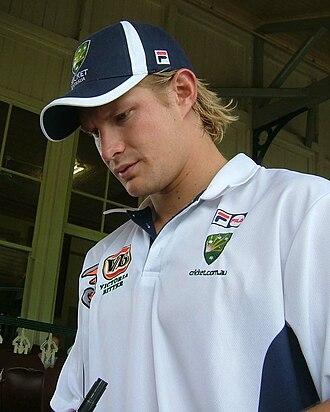Shane Watson - Watson in January 2005
