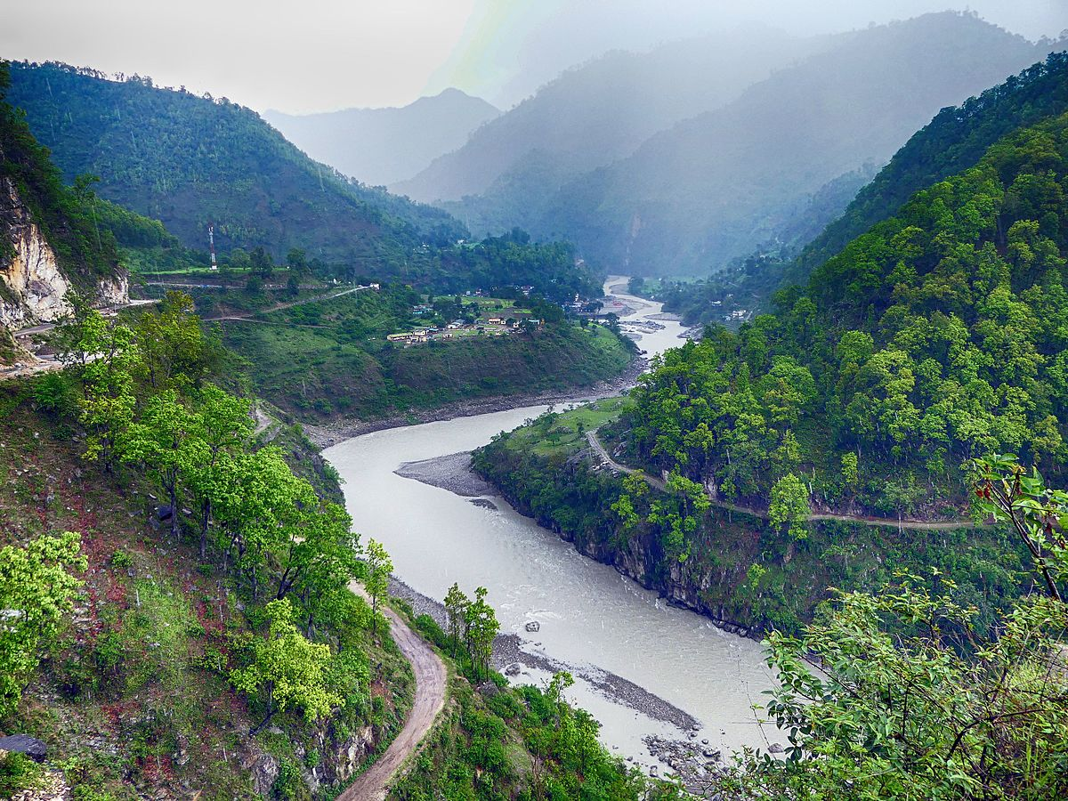 Sharda river wikipedia for River hill