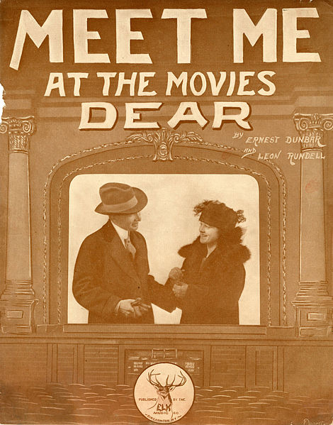 File:Sheet music cover - MEET ME AT THE MOVIES DEAR (1919).jpg