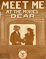 Sheet music cover - MEET ME AT THE MOVIES DEAR (1919).jpg