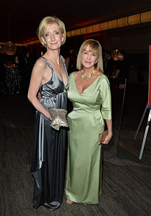 Sheila McCarthy & Debra McGrath at Music & Movies CFC Gala & Auction Fundraiser 2014.jpg