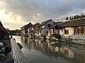 Shihe River near Taipingqiao Bridge in Fengjing Town.jpg
