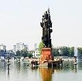 Shiva Statue @ Sur Sagar Lake, Vadodara.JPG