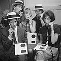 Show van Rudi Carrell Rudi Carrell, Ben Rowold, Jasperina de Jong, Eric Herfst,, Bestanddeelnr 912-6595.jpg