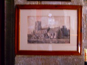 Sibsey - Image: Sibsey church sketch