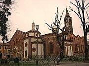 Side view of Saint Eustorgius Church in Milan.jpg