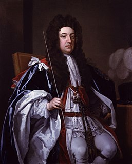 Sidney Godolphin, 1st Earl of Godolphin British politician
