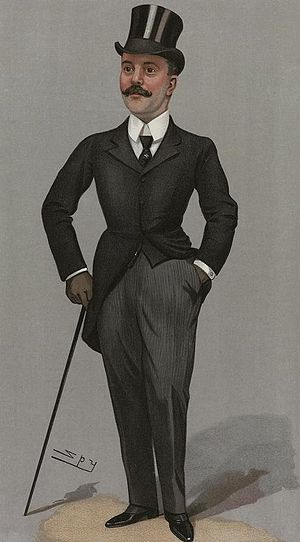 Sidney Greville - Greville caricatured in Vanity Fair.