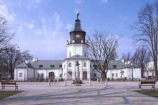 Siedlce Place in Masovian Voivodeship, Poland