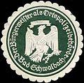 Siegelmarke Der Bürgermeister als Ortspolizeibehörde - Bad Schwalbach W0285320.jpg