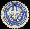 Siegelmarke Eisenbahn Direktions Bezirk Bromberg - Königliches Eisenbahn Betriebs - Amt Bromberg W0229444.jpg