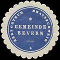 Siegelmarke Gemeinde Bevern H. Braunschweig W0382793.jpg
