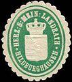Siegelmarke Herzoglich Sächsisch Mein. Landrath - Hildburghausen W0246991.jpg