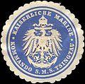 Siegelmarke Kaiserliche Marine - Kommando S. M. S. Tsingtau W0215944.jpg