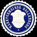 Siegelmarke Marktgemeinde Hollenburg W0318704.jpg