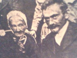 Siegfried Alkan - Siegfried Alkan with his mother Johanna in an 1899 photograph