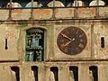 Sighişoara (Segesvár, Schäßburg) - clock.JPG