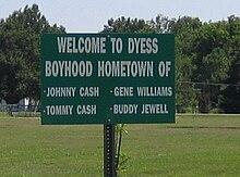 Benvenuti a Dyess, città di Johnny Cash.