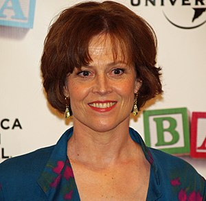 Sigourney Weaver - Sigourney Weaver at the 2008 Tribeca Film Festival premiere of Baby Mama, in which she appears.
