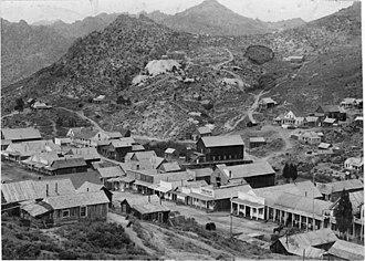 Silver City, Idaho - Silver City in 1892