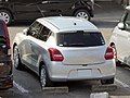 Silver Suzuki SWIFT XL (DBA-ZC83S) rear.jpg
