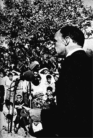 Frank Sinatra and Jewish activism - Sinatra in Nazareth in 1962