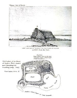 Sindri Fort - Ruins in 1869