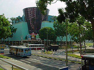 Hougang - Another view of Hougang Mall Shopping Centre, before renovation